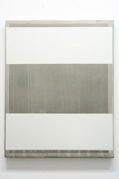 Douglas Witmer, Nothing left to leave, black gesso and acrylic on canvas, 30 x 22, 2012