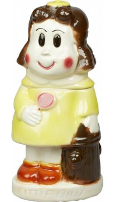 American Bisque Little Lulu Ceramic Cookie Jar