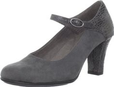 """Aerosoles Women's Role With It Mary Jane Pump Aerosoles. $29.99. Heel measures approximately 3"""". Double padded memory foam insole. Rubber sole. Sueded sock insole. Syntetic"""