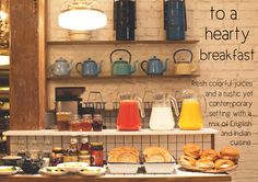 Abode Bombay - Boutique Hotel - Mumbai India - by Sian Pascale of Young Citizens - lobby hotel breakfast spread Hotel Mumbai India, Hotel Breakfast Buffet, Vintage Buffet, Old Building, Hotel Lobby, Hotel Reviews, Beautiful Interiors, Budget Hotels, Vintage Boutique