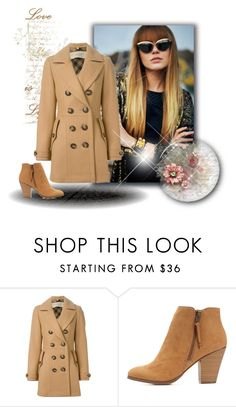 """""""My new autumn coat x"""" by xpinkplaymatex ❤ liked on Polyvore featuring Burberry and Charlotte Russe"""