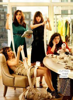 Kristen Wiig, Maya Rudolph, Rose Byrne, Melissa McCarthy