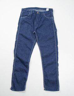 orSlow Indigo One Wash Denim Slim Fit Painter Pant