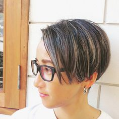 New Hair Look, Short Bob Hairstyles, Hair Looks, Pixie, Salons, Short Hair Styles, Hair Cuts, Hair Color, Hair Beauty