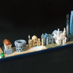 Architecture Skylines. Check out all 59 at archbrick.com #legoarchitecture #skylines #lego #legoideas #legobuildings #acrosstheworld