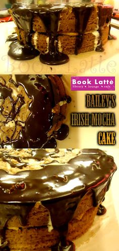 Bailey's Irish Mocha Creme Alcoholic cake