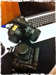 Taller Pentax & Bowens con Diego Espada y Foto K Binoculars, Amp