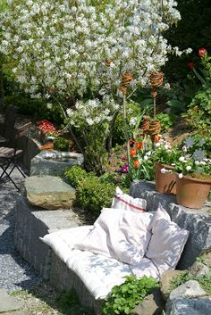 Ein Schweizer Garten: Farben braucht das Leben...