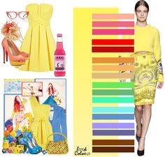 light yellow: color combinations