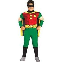 Disfraz de Robin musculoso para niño