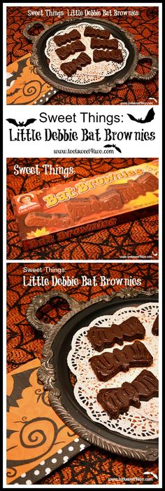 Sweet Things: Little Debbie Bat Brownies