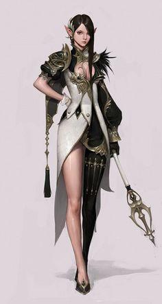 Tags: Anime, Elf, Tera Online, Asymmetrical Clothing