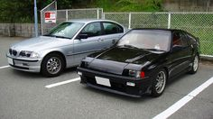 BMW E46 & Mugen Pro. CR-X Two-Shot( Good friend ) Honda Crx, Commercial Vehicle, Bmw E46, Bella, Best Friends, Cars, Vehicles, Beat Friends, Bestfriends