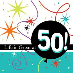 50th party supplies