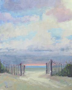 Beach Walk | Kathy Cousart Fine Art