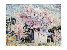 Spring in Provence, 1903 Giclee Print by Paul Signac at Art.com