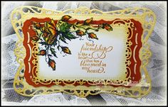 how to use spellbinders radiant rectangles - Google Search