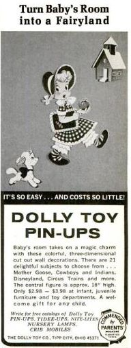 1967 dolly toy co pin-up ad