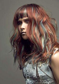 Причёски и стрижки: фото из коллекции ACID WASH