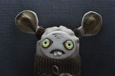 Tooth by SzyszkaDolls on Etsy Ooak Dolls, Art Dolls, Monster Toys, Gothic Dolls, Unique Gifts, Handmade Gifts, Creepy Dolls, Fabric Art, Tooth