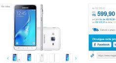 Samsung Galaxy J3 Dual Chip Android 5.1 Tela 5'' 8GB 4G Wi-Fi Câmera 8MP << R$ 53991 >>