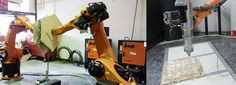 """Robotic Fabrication: A look at """"Fiber Syntax"""" and """"Woven Clay"""""""