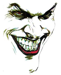 """The Joker. Thanks to a fellow deviant I can give credit to the original artist """"Alex Ross"""" However I would also like to reiterate that this is fan art. The Joker Joker Drawings, Art Drawings, Joker Sketch, Art Central, Comic Art, Comic Books, Joker Face, Joker Wallpapers, Joker And Harley Quinn"""