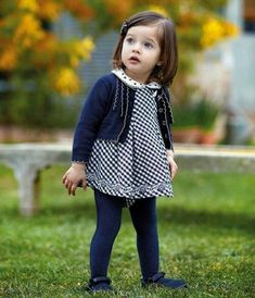 15 Ideas for baby girl clothes winter fall outfits fashion kids Winter Outfits For Girls, Little Girl Outfits, Little Girl Fashion, Toddler Girl Outfits, Cute Little Girls, Baby Girl Dresses, Baby Dress, Baby Outfits, Summer Outfits