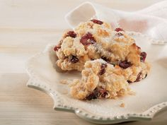 Cranberry-Walnut Scones  This is a quick and easy recipe.  Better than any scone recipe I have prepared so far.