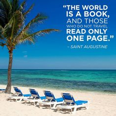 Get wrapped up in a good read while listening to the calming sounds of the #Caribbean Sea.