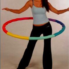 Weighted hula hoop.