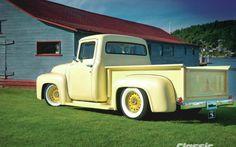 1956 Ford F100 Pickup Truck Custom