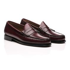 Weejuns Larson Penny Loafers Wine Leather