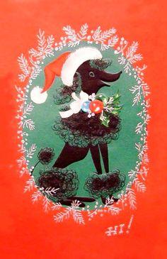 Poodle Christmas.