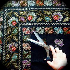 Heritage by Sandra Galan Textiles, Shoulder Bag, Traditional, History, Floral, Pattern, Bags, Vintage, Handbags
