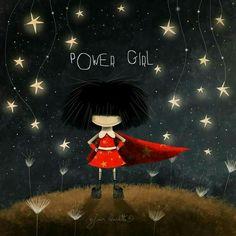 Morning Greeting, Power Girl, Types Of Art, Book Illustration, Dog Art, Hair Designs, Cute Love, Doodle Art, Cute Drawings