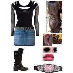 """Ringside For Seth Rollins Match Against RVD"" by alyssaclair-winchester on Polyvore"