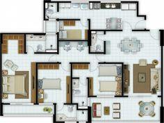 Cottage House Plans, Cottage Homes, House Floor Plans, Exterior Design, Home Interior Design, Apartment Plans, Ideas Para, Flooring, How To Plan