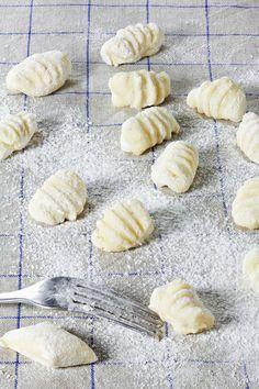 Gnocchi de pommes de terre à la piémontaise - Recettes Elle à Table