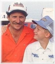 Dale Earnhardt younger years | Dale Earnhardt Jr Girlfriend | Dale Earnhardt Sr. and young Dale Jr.