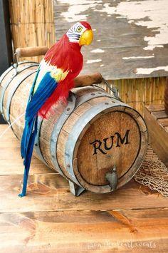 Rum Barrel from a Pi