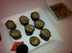 Pills and Thrills: Quinoa Nori Rolls