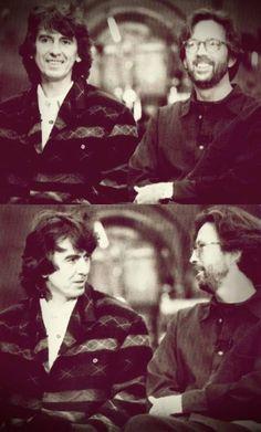 ~ George Harrison & Eric Clapton
