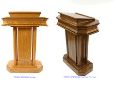 Custom church pulpit plans google search stuff to for Stehpult pappe