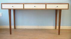 Bloom Desk / Console Table by STORnewyork on Etsy, $899.00  Sebastian's room