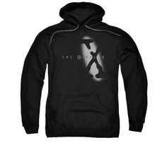 X Files - Spotlight Logo Adult Pull-Over Hoodie