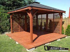 Wooden Summer House, Gazebo, Pergola, Outdoor Structures, Garden, Kiosk, Garten, Pavilion, Outdoor Pergola