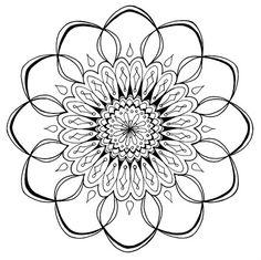 Free Mandala Coloring Page to Print