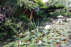 jardín japonés Four Square, Saints, Santiago, Saint Christopher