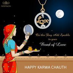 Express your love with sparkling #goldgifts! Happy Karwa Chauth....